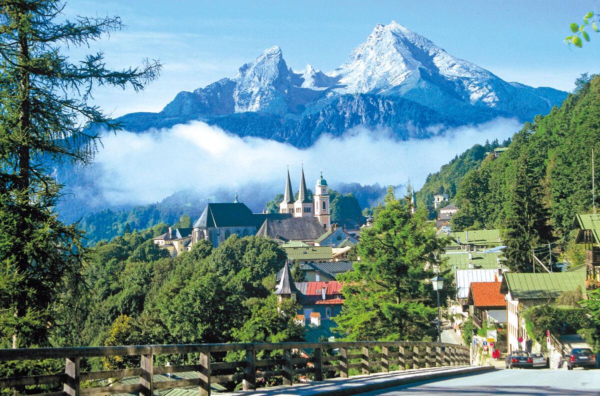 Berchtesgaden_Koenigssee Watzmann