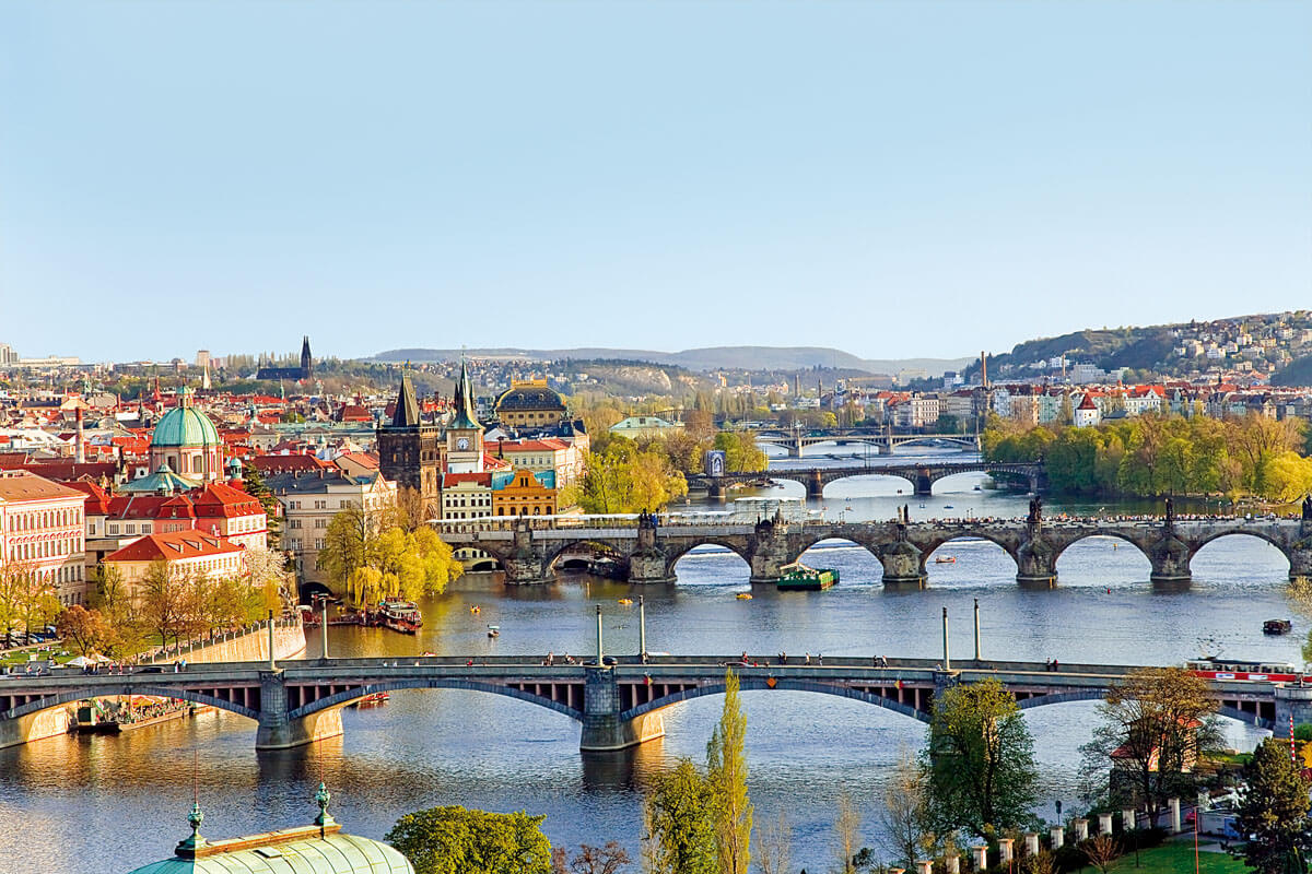Donau-Moldau Prag