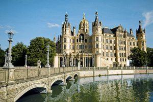 Mecklenburger Seenplatte Schweriner Schloss