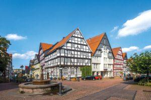 Bad Wildungen Altstadt - Frühling in Bad Wildungen