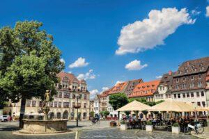 Naumburg Altstadt - Ostern im Burgenland