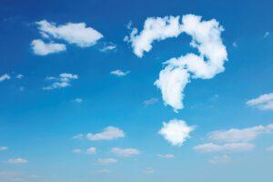 Wolken - Reise ins Blaue